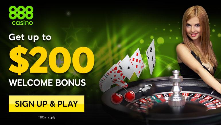 Mängijad naudivad 888 kasiino ägedaid netikasiino mängude tervitusboonust kindlasti