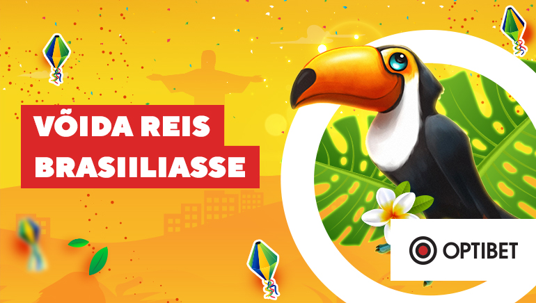 Optibet kasiino tähistab karnevalihooaega reisiga Brasiiliasse