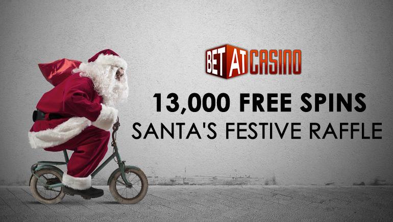 Jõuluvana kingikotis 13 000 tasuta keerutust BETATi kasiinos