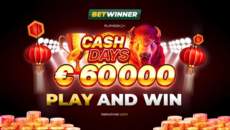 Veebruaris Betwinner kasiinos rahapäevad võitudega €60K