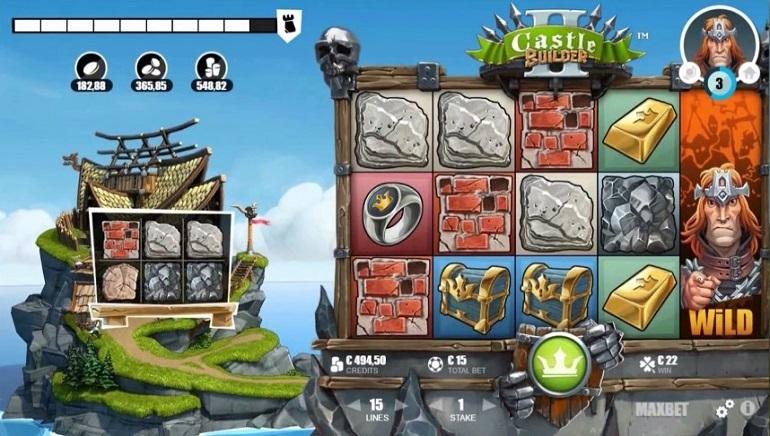 On ehitamise aeg: Microgamingu Castle Builder II mänguautomaat nüüd saadaval