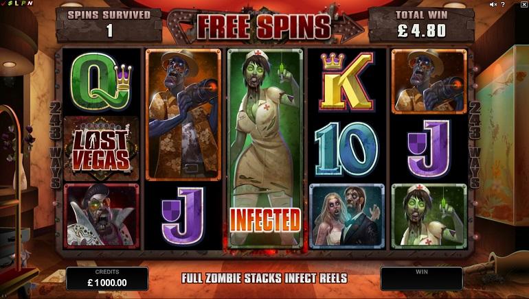 Lost Vegas: uus zombi-teemaline mänguautomaat Microgamingult