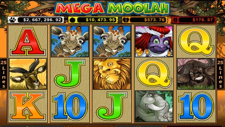 Spin Palace kasiinos võideti Mega Moolah peavõit €6 905 670,81