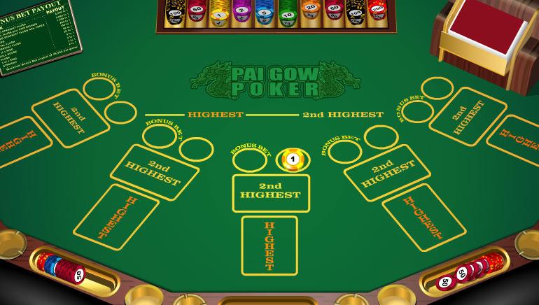 Bonus Pai Gow Poker